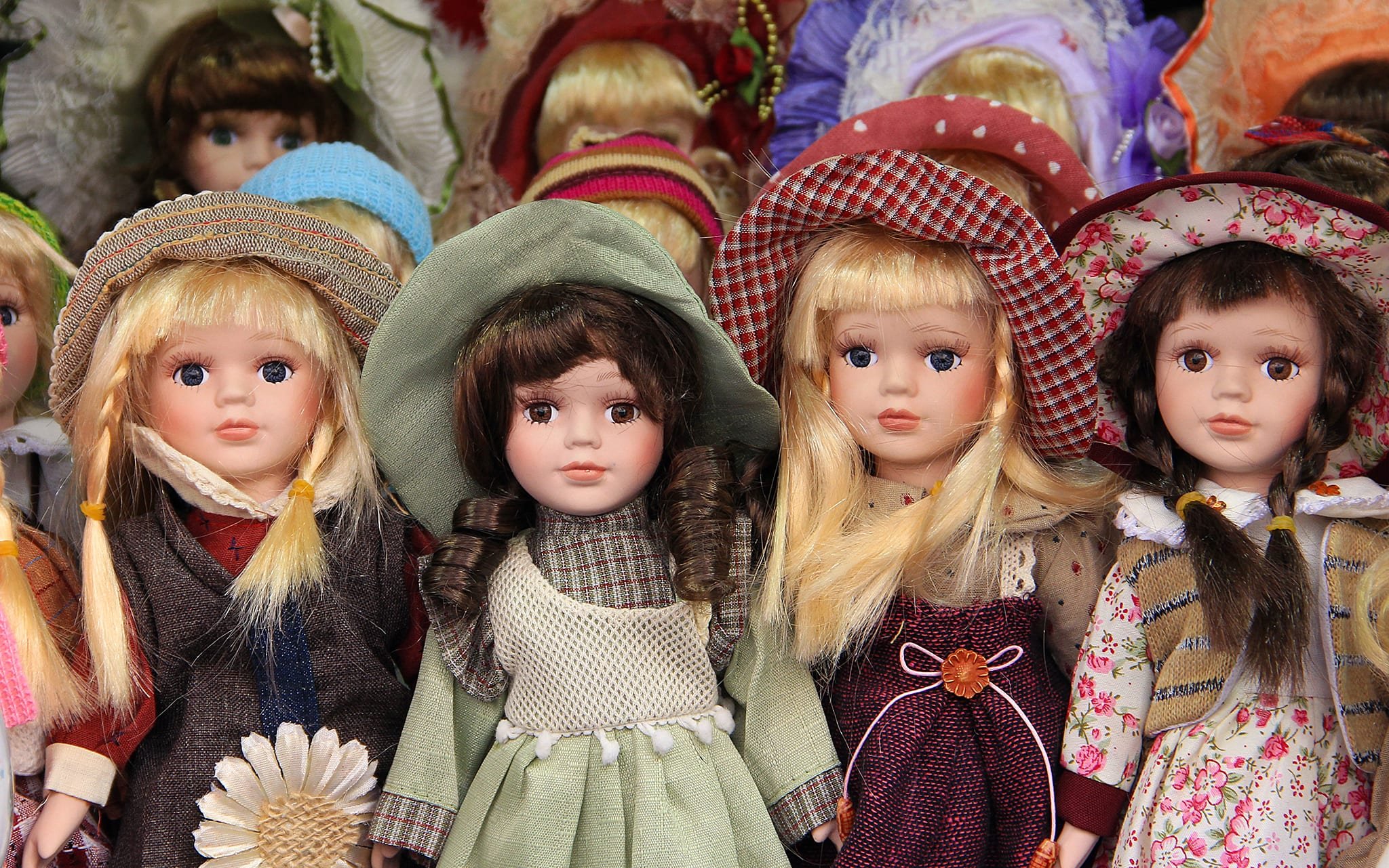 revisit your childhood and browse the doll collection available at ramzs emporium lafayette indiana