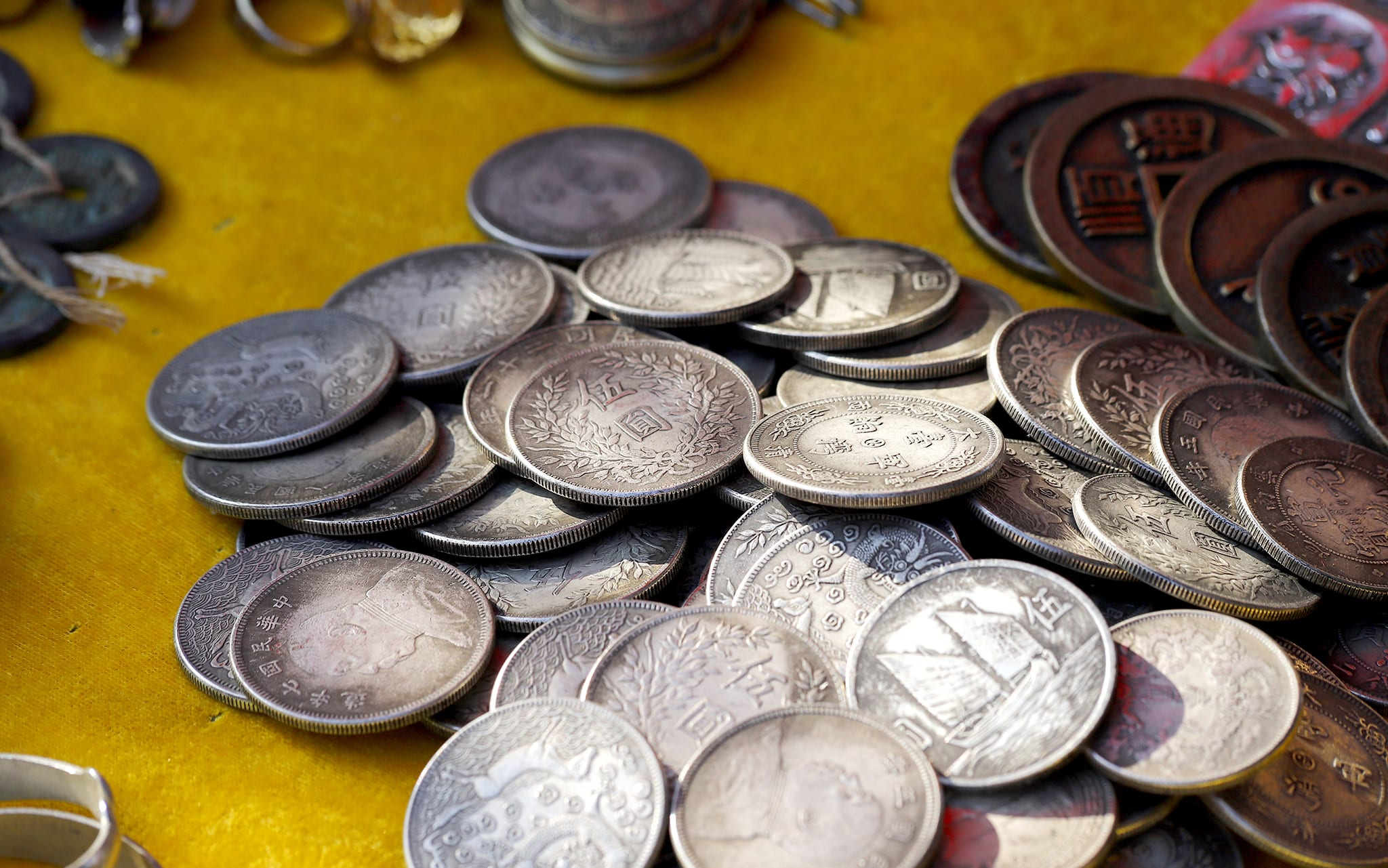 silver coins are a valuable asset to collect and ramzs has a great selection to choose from